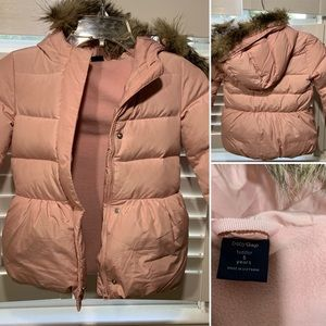 Baby Gap Puffy Jacket Size 5T